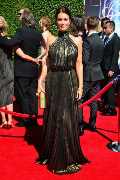 Bellamy Young attends the 2014 Creative Arts Emmy Awards