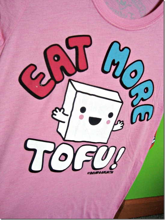 eat more tofu