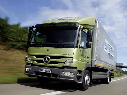 Camiones Mercedes Benz Atego Distribucion