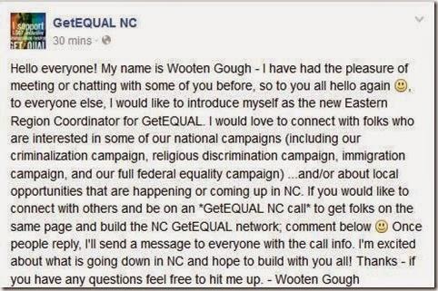 GetEQUAL NC www.facebook.com GetEQUAL.NC fref=nf
