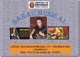 Sarau musical1