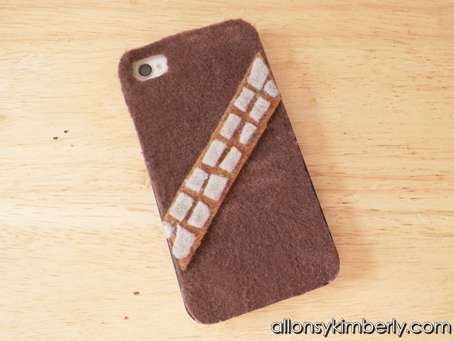 DIY Chewbacca iPhone Case
