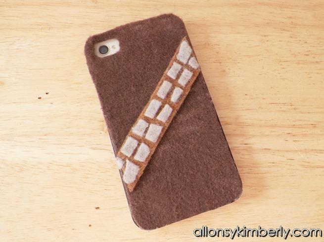 DIY Chewbacca iPhone Case