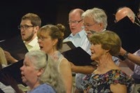 Photo 1 - Members of the Crescent Choral Society in Concert