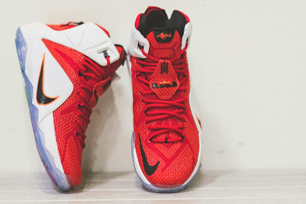 Release Reminer Nike LeBron 12 8220Heart of a Lion8221  FirstGame