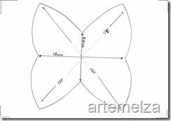 artemelza - bolsa 4 pontas