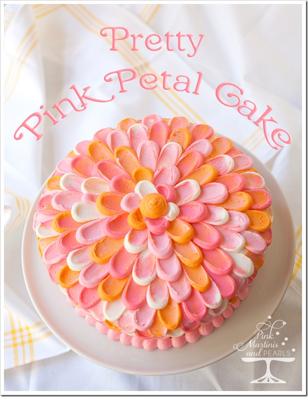 Pretty Pink Petal Cake Wilton