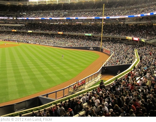 'Visitor's (Cincinnati Reds) Bullpen, Yankee Stadium' photo (c) 2012, Ken Lund - license: http://creativecommons.org/licenses/by-sa/2.0/