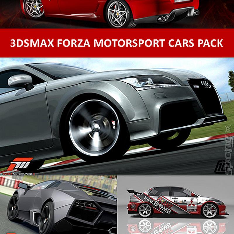 59 3dsMax Forza Motorsport Cars Pack