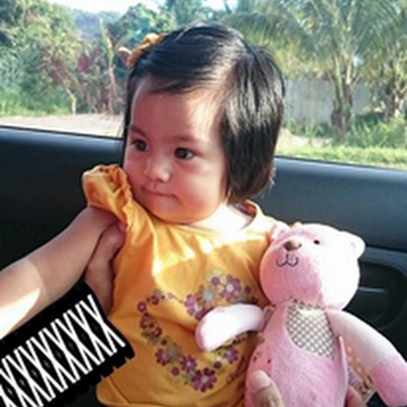 Teddy Bear pertama Zahra !