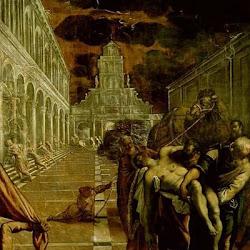 87 - Tintoretto - Traslado del cuerpo de San Mateo