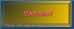 diploma pharmacist vacancy