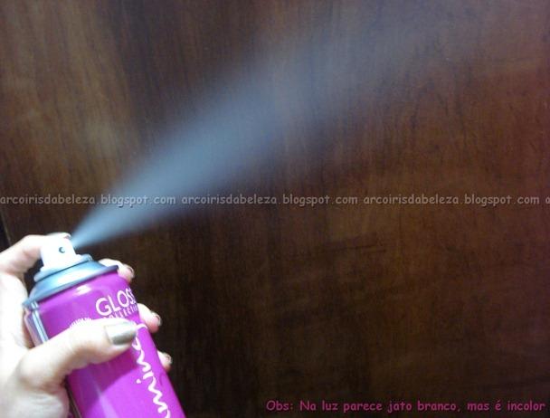 jato incolor - Spray Charming Gloss