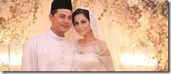 Gambar perkahwinan Fyza Kadir dan Ahmed Feruz 15
