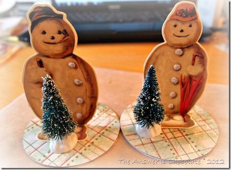 standing snowmen