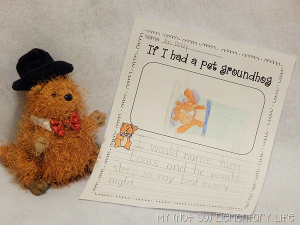 Groundhog's Day Writing Prompt