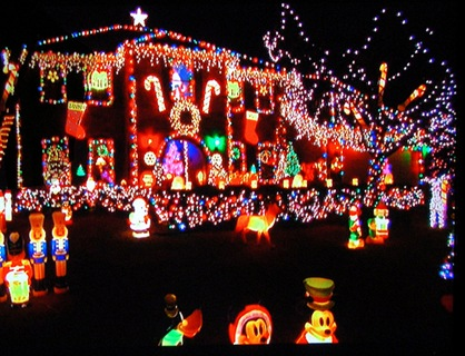 christmas lights overkill