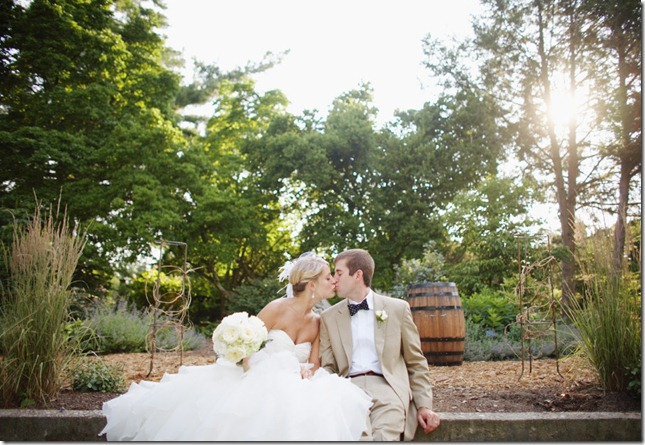 Louisville Real Wedding - Yew Dell Gardens by Todd Pellowe