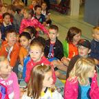 Sport op school met het eerste leerjaar