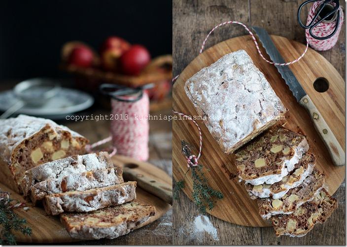 Ciasto jabłkowe z tonką i tymiankiem