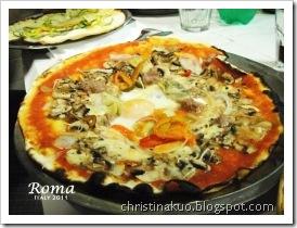 【Italy♦義大利】Rome 羅馬 - 背包客必備~Roma Pass & metro介紹, 聖天使橋, 便宜又超好吃的pizza: Da Baffetto