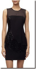 Whistles Sequin Panel Dress