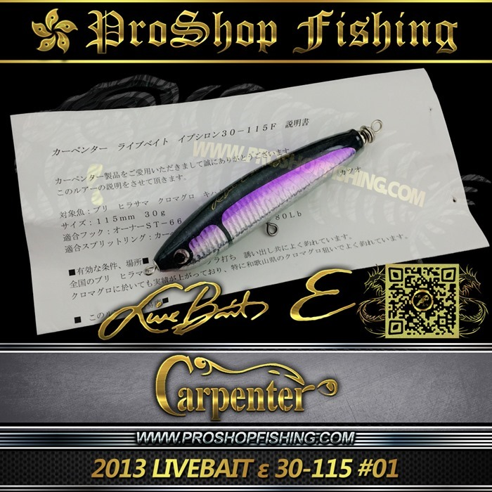 carpenter 2013 LIVEBAIT ε 30-115 #01.6