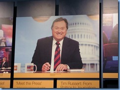 1527 Washington, D.C. - Newseum - Inside Tim Russert's Office Exhibit