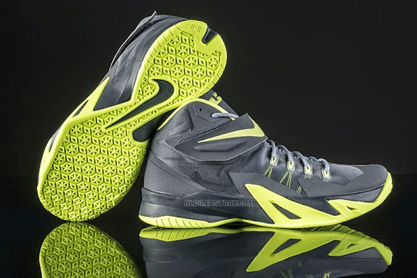 Upcoming Nike Zoom Soldier VIII Magnet Grey amp Volt