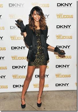 Chanel Iman DKNY Golden Delicious Million xIXb0NhOXvel