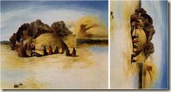 Visage Paranoïaque - Salvador Dali, 1935