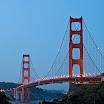 Golden Gate Bridge from Nearby Hotel
