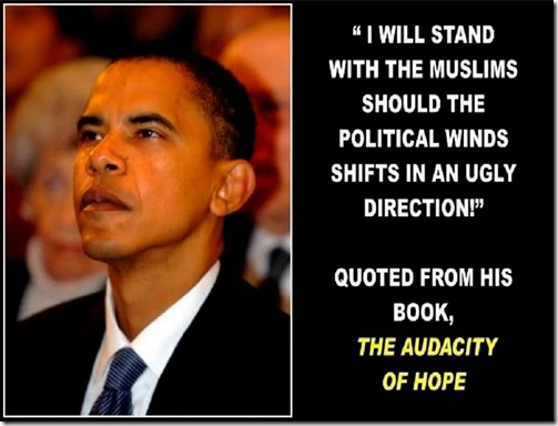 Obama quote favoring Muslims