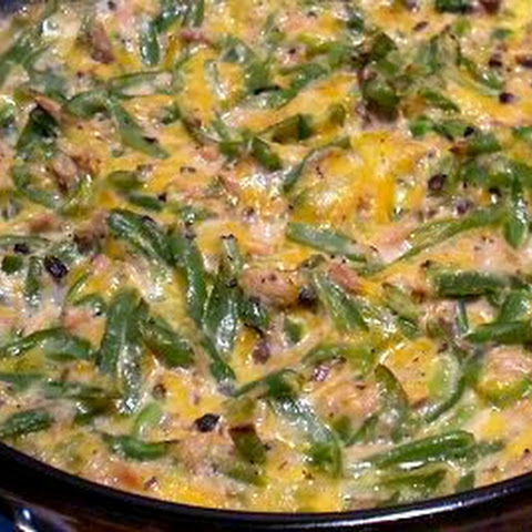 CHEESY TUNA CASSEROLE