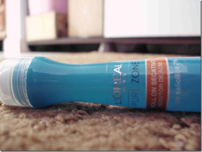 acne e espinha reincidente / Loreal Pure Zone Roll on