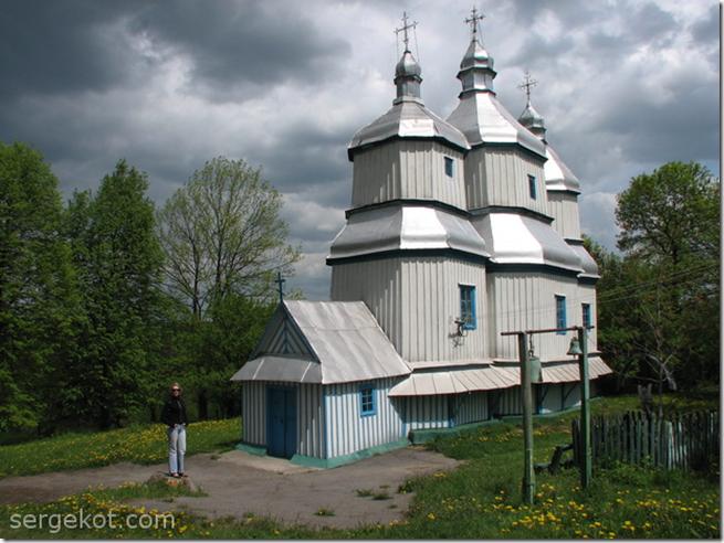 Вороновиця, церква