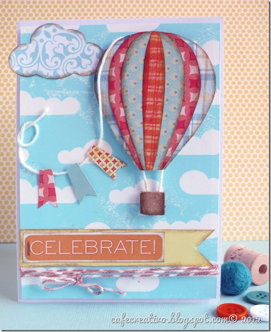 Card Momgolfiera - Anna