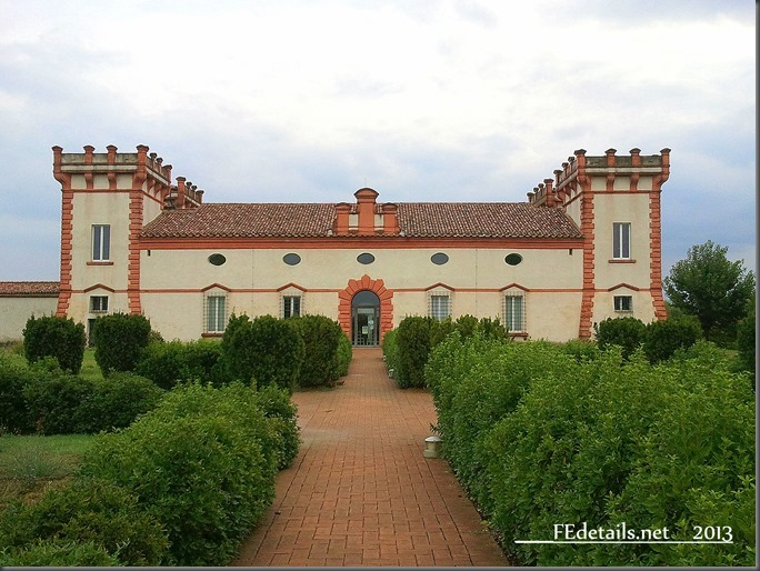 Delizia del Verginese, Ferrara, Italia - Delight of Verginese, Ferrara, Italy, photo1