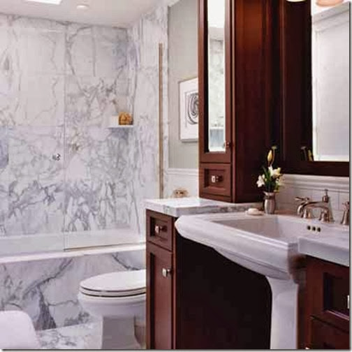 Decorate a Large Bathroom for Better Function and Style