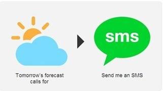 ricevere un sms se piove o nevica