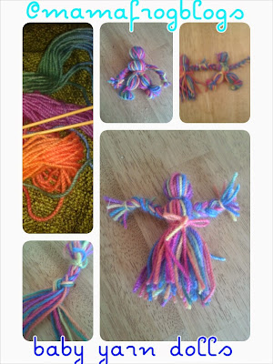 how to make a hamdmade yarn doll for christmas present