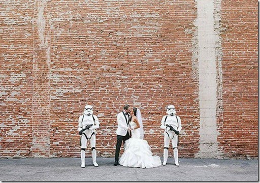 star wars, boda, friki, geek, darth vader