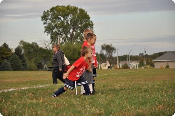 Luke- Soccer Stance