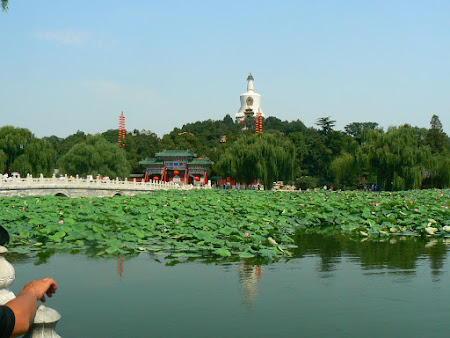 Beijing: Behai lake
