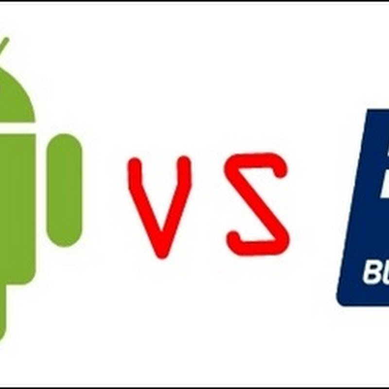 Android VS BlackBerry