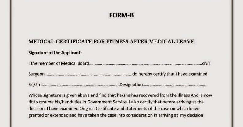 For Medical Leave Form A, Form B ~ Manateachers