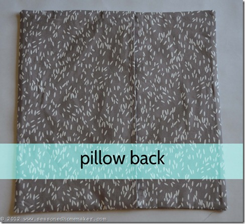 How to Sew a Pillow 34