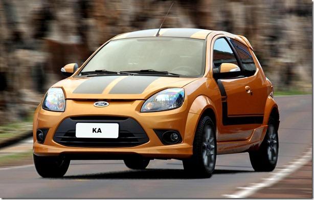 Ford Motor Company brasil Ltda NOVO FORD KA 2012 NOVO DESIGN, MODELOS 1.0 COM MAIS CONTEÚDO E 1.6 SPORT APRIMORAM A LINHA 2012   São Paulo - Julho/2011