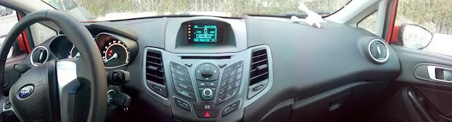 Salpicadero del Ford Fiesta 2013 con Ford Sync