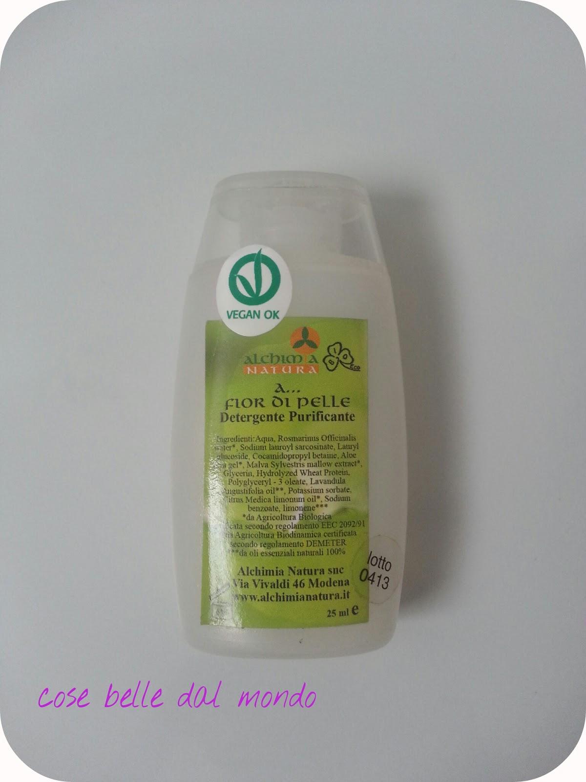 Cose belle dal mondo alchimia natura detergente for Cose belle dal mondo